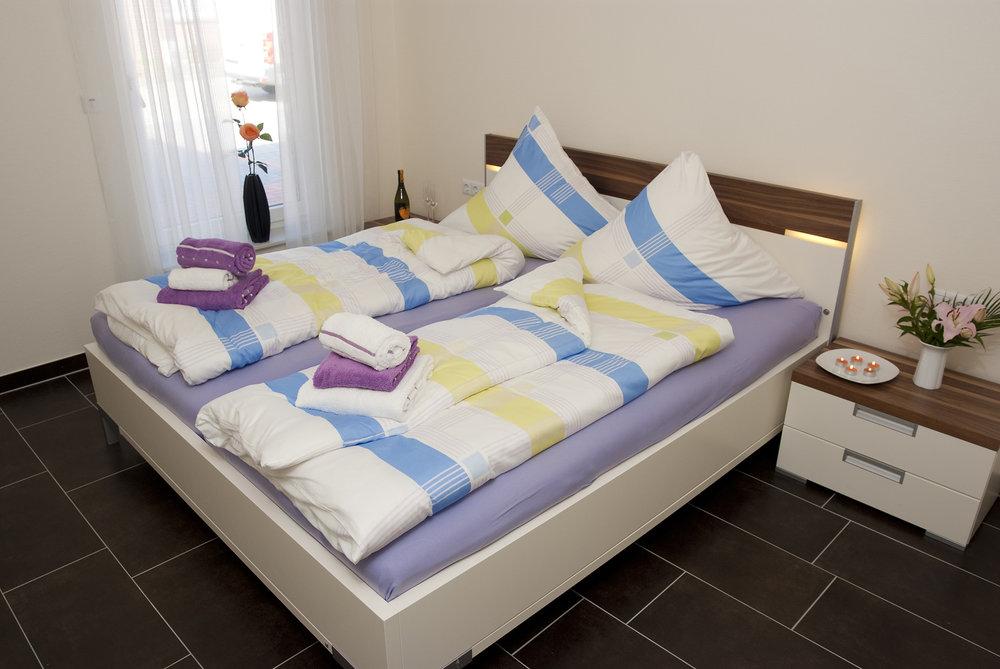 Ferienwohnung Sonnenidyll auf Borkum: Schlafzimmer 2